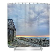 Chapman's Pool - England Shower Curtain