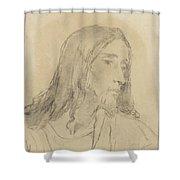 Cornelis Kruseman Shower Curtain