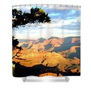 D C Landscape Shower Curtain