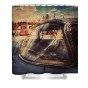 Derelict Transport Shower Curtain