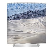 Dumont Dunes 4 Shower Curtain by Jim Thompson