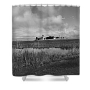 East Point Lighthouse Nj Shower Curtain