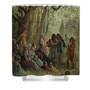 Eleanor Of Aquitaine Shower Curtain