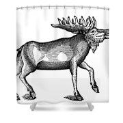 Elk/moose Shower Curtain