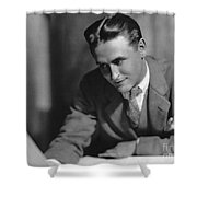 F. Scott Fitzgerald Shower Curtain by Granger