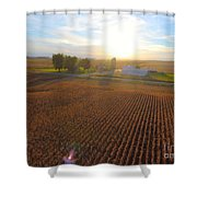 Farming Shower Curtain