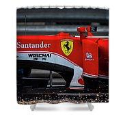 Ferrari Formula 1 Kimi Raikkonen Shower Curtain