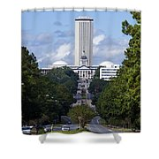 Florida State Capitol Building  Shower Curtain