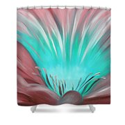 From The Heart Of A Flower Shower Curtain