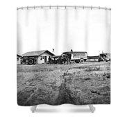 Goodyear Wingfoot Express Shower Curtain
