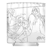 Guilty Crown Shower Curtain