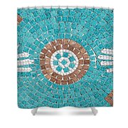 Hans Mosaic Shower Curtain