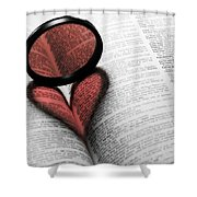 Heart Shower Curtain