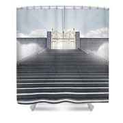 Heavens Gates Shower Curtain