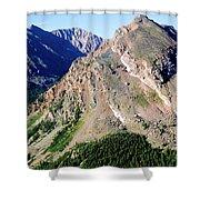 Hiking The Mount Massive Summit Shower Curtain