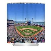 Home Of The San Francisco Giants Shower Curtain