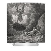 Illustration By Gustave Dore 1832-1883 Shower Curtain