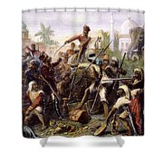 India: Sepoy Mutiny, 1857 Shower Curtain