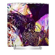 Insect Plant Nature  Shower Curtain