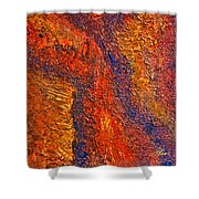 Intuitive Painting Shower Curtain
