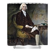 James Madison (1751-1836) Shower Curtain