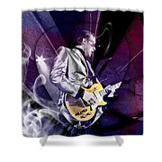 Joe Bonamassa Blues Guitarist Art Shower Curtain