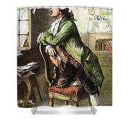 Johann Goethe, 1749-1832 Shower Curtain