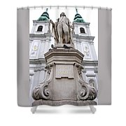 Josef Haydn Shower Curtain
