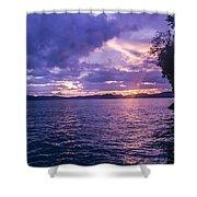 Krabi Sunset Shower Curtain