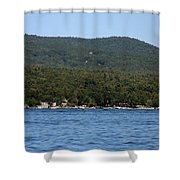 Lake George New York Shower Curtain
