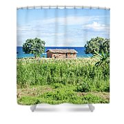Landscape At The Lake Malawi Shower Curtain