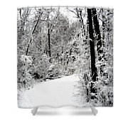 Landscape Framed Shower Curtain