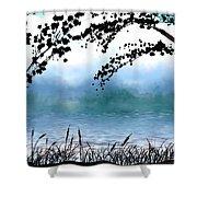 #4 Landscape Shower Curtain