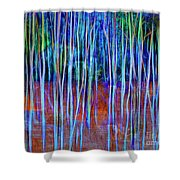 Magic Of The Aspens Shower Curtain