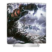 Magic The Gathering Shower Curtain
