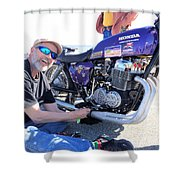 Man Cup 4 08 2016 By Jt Shower Curtain