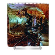 Marble Cave Crimea Shower Curtain