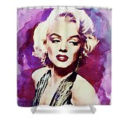 Marilyn Monroe, Actress And Model Shower Curtain