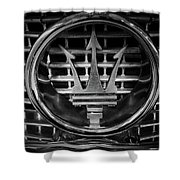 Maserati Shower Curtain