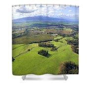Maui Aerial Shower Curtain