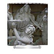 4 Mermaids Shower Curtain