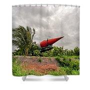 Military Weapons, Ballistic, Anti-aircraft, Medium-range Missile 5 Shower Curtain