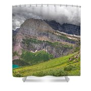 Montana-glacier National Park-grinnell Glacier Trail Shower Curtain