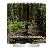 Montgomery Woods State Natural Reserve Shower Curtain
