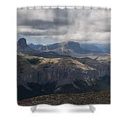 Mount Black Rock Shower Curtain