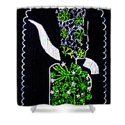 Murle Bride -  South Sudan Shower Curtain