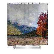 New Landscape Shower Curtain