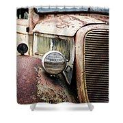Old Farm Ford - Pov 1 Shower Curtain