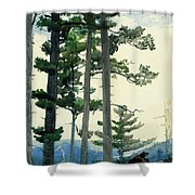 Old Settlers Shower Curtain
