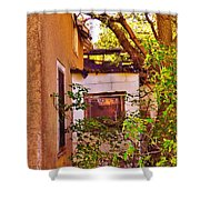 One Country Farmhouse Shower Curtain